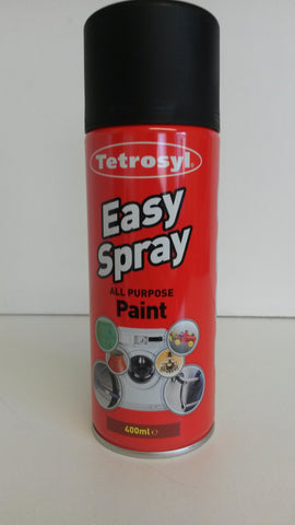 Tetrosyl Easy spray matt black 400ml