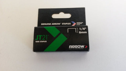 Arrow jt21 staples 6mm