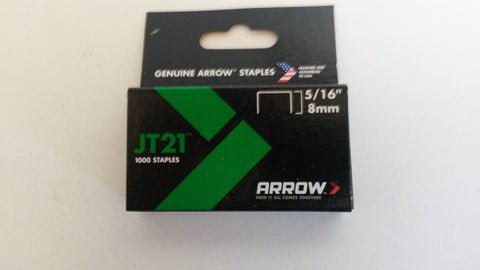 Arrow jt21 staples 8mm