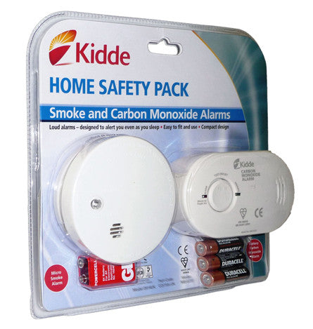 Kidde Home Safety Pack (Smoke and Carbon Monoxide Alarms)