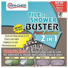 Tile and shower buster wes-chem 750ml