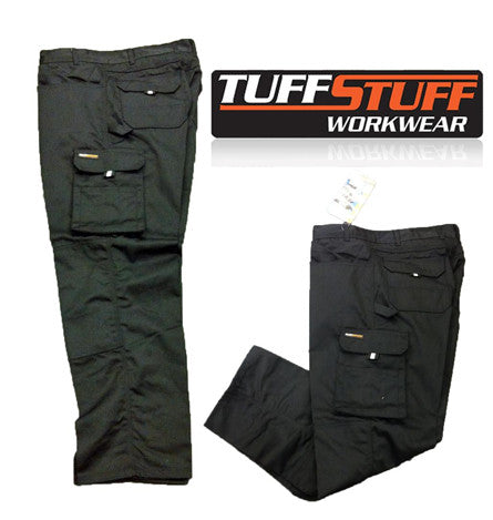 Tuff Stuff Pro Work Trousers (711/GY   711/BK)