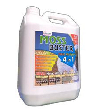 Wes Chem Moss Buster 5 Litre