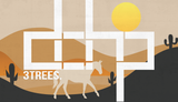 The  A Horse With No Name Tree-Shirts (White): one of the Tree-Shirts by DOHP, get it now from the Decorate Our Home Planet Store! We plant 3 Trees for every item sold! - 1