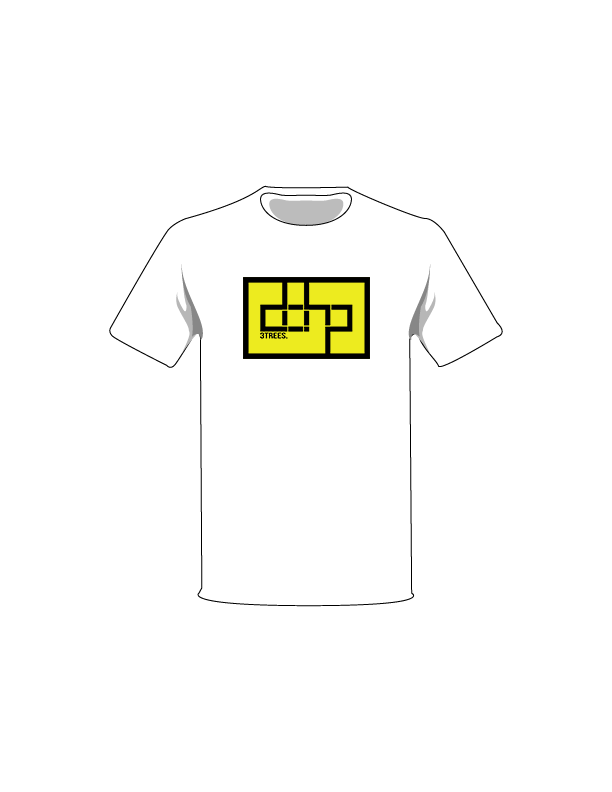 The Black / White / Extra Small ColorMeDOHP Custom Tree-Shirts (Yellow Background): one of the Tree-Shirts by DOHP, get it now from the Decorate Our Home Planet Store! We plant 3 Trees for every item sold! - 2