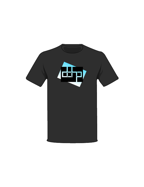 The Black / Medium Blue Cutout Tree-Shirt: one of the Tree-Shirts by DOHP, get it now from the Decorate Our Home Planet Store! We plant 3 Trees for every item sold! - 7