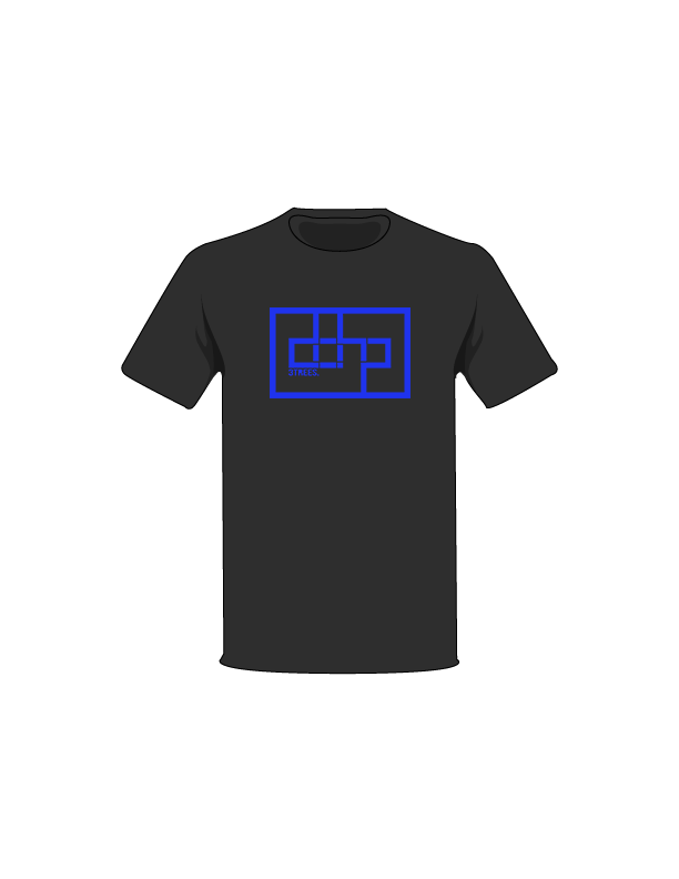 The Blue / Black / Small ColorMeDOHP Custom Tree-Shirts (Black Background): one of the Tree-Shirts by DOHP, get it now from the Decorate Our Home Planet Store! We plant 3 Trees for every item sold! - 11