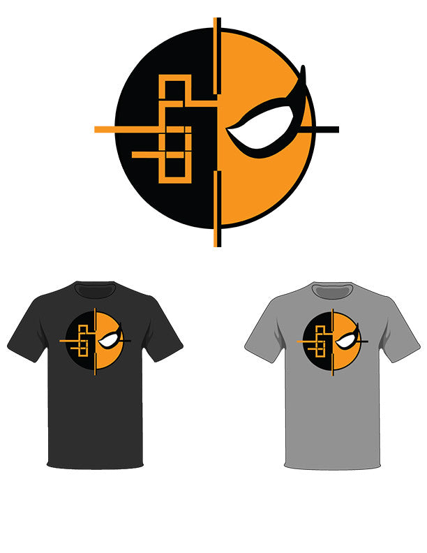 The  Homage to Deathstroke Tree-Shirts (New!): one of the Tree-Shirts by DOHP, get it now from the Decorate Our Home Planet Store! We plant 3 Trees for every item sold! - 1