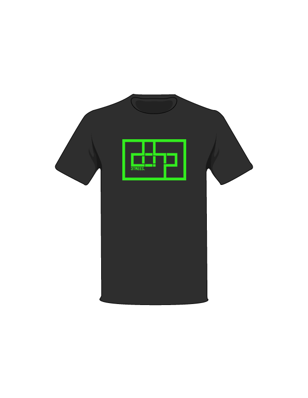 The Green / Black / Small ColorMeDOHP Custom Tree-Shirts (Black Background): one of the Tree-Shirts by DOHP, get it now from the Decorate Our Home Planet Store! We plant 3 Trees for every item sold! - 9
