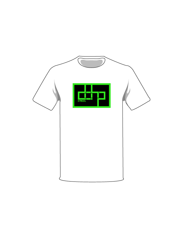 The Green / White / Extra Small ColorMeDOHP Custom Tree-Shirts (Black Background): one of the Tree-Shirts by DOHP, get it now from the Decorate Our Home Planet Store! We plant 3 Trees for every item sold! - 8