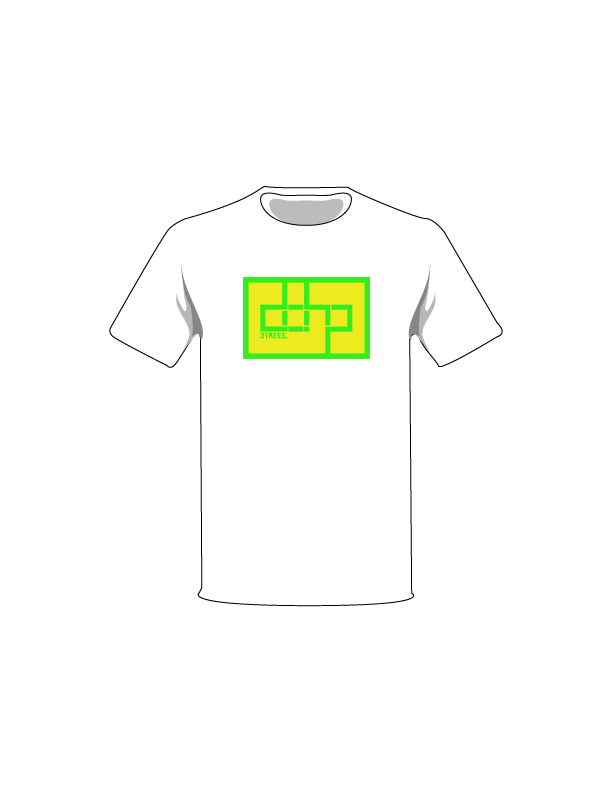 The Green / White / Extra Small ColorMeDOHP Custom Tree-Shirts (Yellow Background): one of the Tree-Shirts by DOHP, get it now from the Decorate Our Home Planet Store! We plant 3 Trees for every item sold! - 8