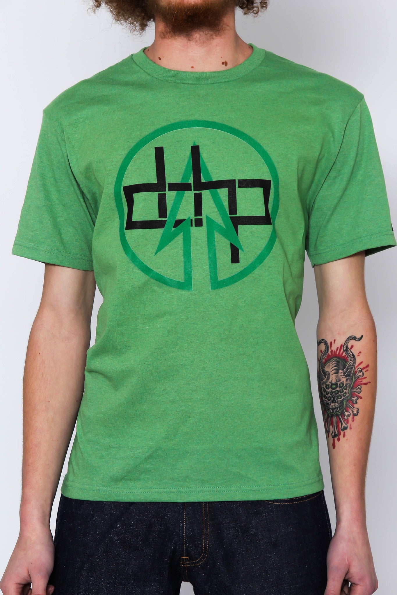 The SPECIAL EDITION GREEN / Extra Small Homage to Green Arrow Tree-Shirt (New!): one of the Tree-Shirts by DOHP, get it now from the Decorate Our Home Planet Store! We plant 3 Trees for every item sold! - 1