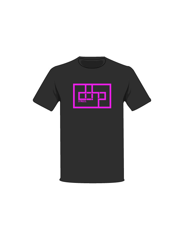 The Magenta / Black / Small ColorMeDOHP Custom Tree-Shirts (Black Background): one of the Tree-Shirts by DOHP, get it now from the Decorate Our Home Planet Store! We plant 3 Trees for every item sold! - 17