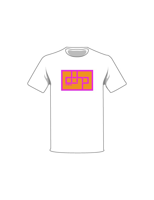 The Magenta / White / Extra Small ColorMeDOHP Custom Tree-Shirts (Orange Background): one of the Tree-Shirts by DOHP, get it now from the Decorate Our Home Planet Store! We plant 3 Trees for every item sold! - 9