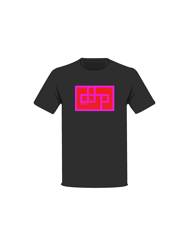 The Magenta / Black / Small ColorMeDOHP Custom Tree-Shirts (Red Background): one of the Tree-Shirts by DOHP, get it now from the Decorate Our Home Planet Store! We plant 3 Trees for every item sold! - 17