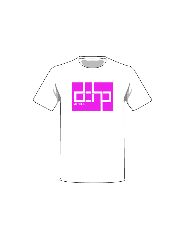 ColorMeDOHP Custom Tree-Shirts (Magenta Background)