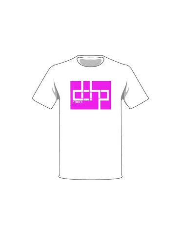 The White / White / Extra Small ColorMeDOHP Custom Tree-Shirts (Magenta Background): one of the Tree-Shirts by DOHP, get it now from the Decorate Our Home Planet Store! We plant 3 Trees for every item sold! - 1