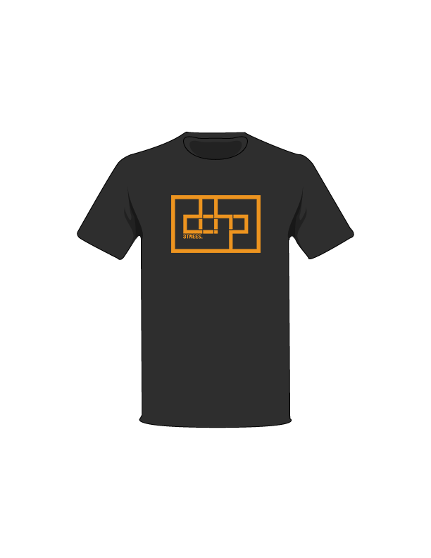 The Orange / Black / Small ColorMeDOHP Custom Tree-Shirts (Black Background): one of the Tree-Shirts by DOHP, get it now from the Decorate Our Home Planet Store! We plant 3 Trees for every item sold! - 5