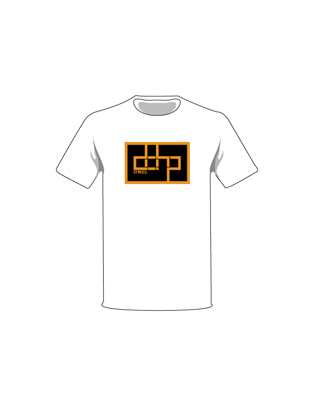 The Orange / White / Extra Small ColorMeDOHP Custom Tree-Shirts (Black Background): one of the Tree-Shirts by DOHP, get it now from the Decorate Our Home Planet Store! We plant 3 Trees for every item sold! - 4