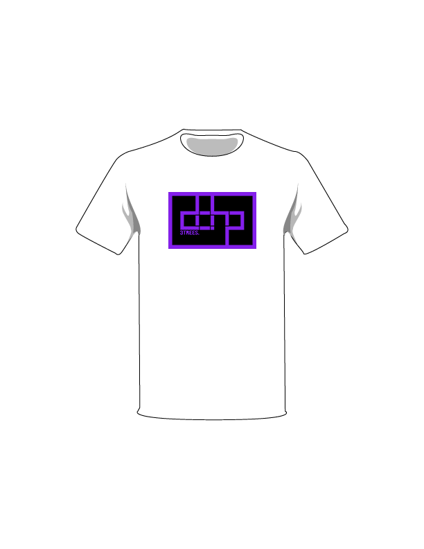 The Purple / White / Extra Small ColorMeDOHP Custom Tree-Shirts (Black Background): one of the Tree-Shirts by DOHP, get it now from the Decorate Our Home Planet Store! We plant 3 Trees for every item sold! - 12