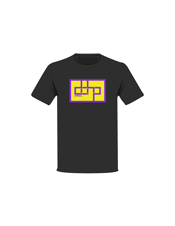 The Purple / Black / Small ColorMeDOHP Custom Tree-Shirts (Yellow Background): one of the Tree-Shirts by DOHP, get it now from the Decorate Our Home Planet Store! We plant 3 Trees for every item sold! - 13