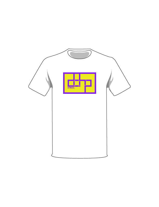 The Purple / White / Extra Small ColorMeDOHP Custom Tree-Shirts (Yellow Background): one of the Tree-Shirts by DOHP, get it now from the Decorate Our Home Planet Store! We plant 3 Trees for every item sold! - 12