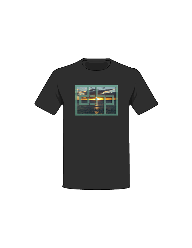 The Black / Small Sunset 4 Tree-Shirts: one of the Tree-Shirts by DOHP, get it now from the Decorate Our Home Planet Store! We plant 3 Trees for every item sold! - 7