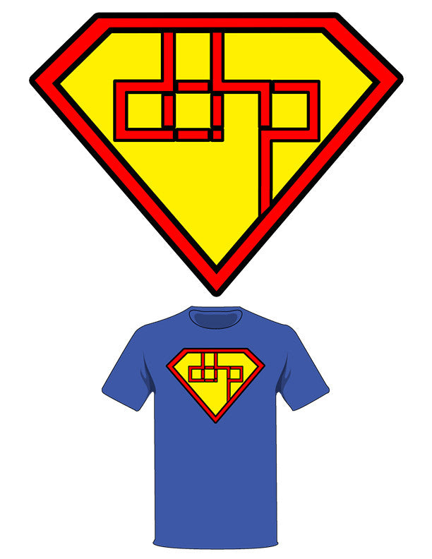 The  Homage to Superman Tree-Shirt (New!): one of the Tree-Shirts by DOHP, get it now from the Decorate Our Home Planet Store! We plant 3 Trees for every item sold! - 2