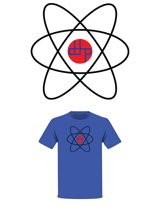 The  Homage to The Atom Tree-Shirt (New!): one of the Tree-Shirts by DOHP, get it now from the Decorate Our Home Planet Store! We plant 3 Trees for every item sold! - 2