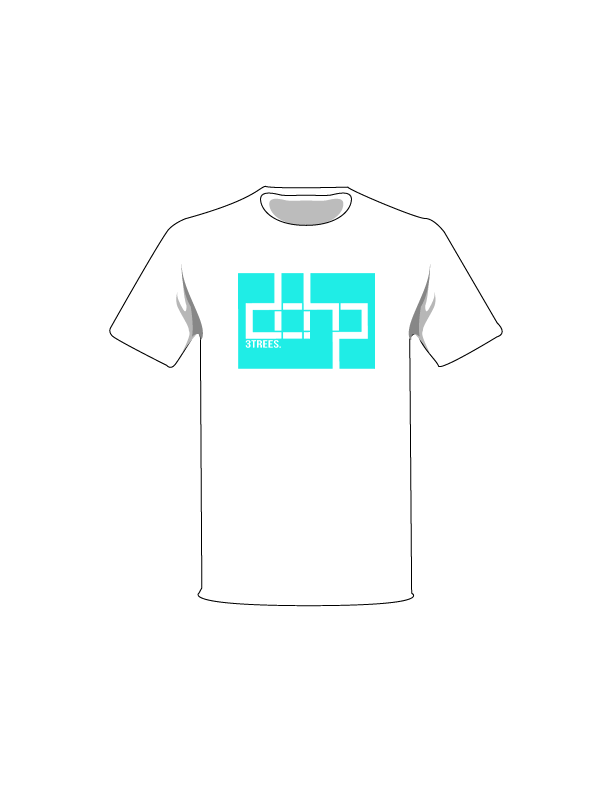 ColorMeDOHP Custom Tree-Shirts (Turquoise Background)