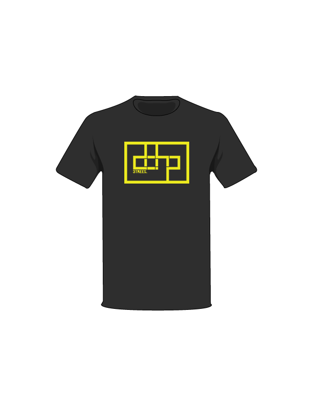 The Yellow / Black / Small ColorMeDOHP Custom Tree-Shirts (Black Background): one of the Tree-Shirts by DOHP, get it now from the Decorate Our Home Planet Store! We plant 3 Trees for every item sold! - 7