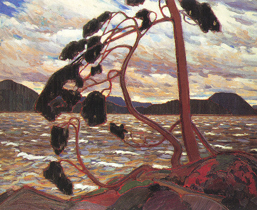The West Wind - small reproduction - Tom Thomson
