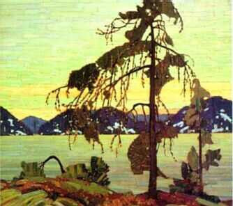 The Jack Pine - large reproduction