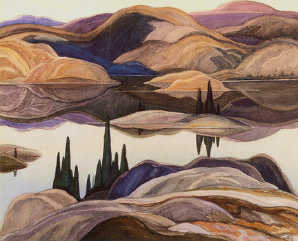 Mirror Lake - large reproduction - Franklin Carmichael