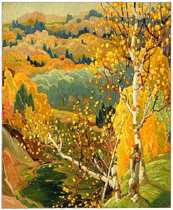 October Gold - large reproduction - Franklin Carmichael