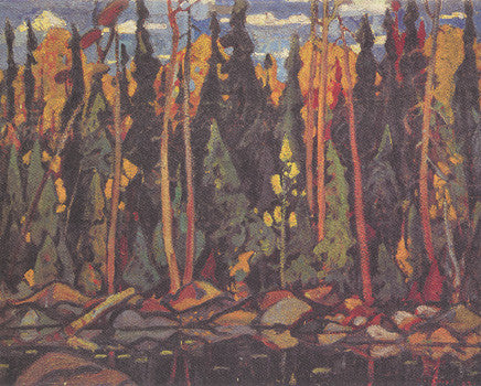 Forest Algoma - small reproduction - Arthur Lismer