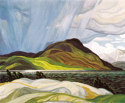 Lake Wabagishik - small reproduction - Franklin Carmichael