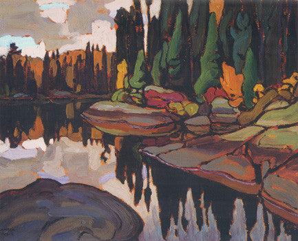 Algoma Reflections - art card