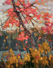 Twisted Maple - Tom Thomson - small reproduction