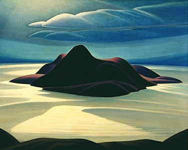 Pic Island - large reproduction - Lawren Harris