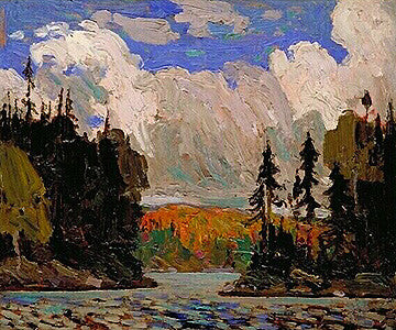 Black Spruce in Autumn - giclee reproduction - Tom Thomson