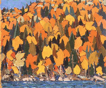 Autumn Foliage - Giclee Reproduction
