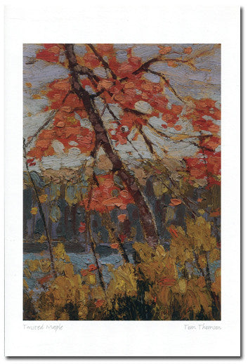 Twisted Maple - art card
