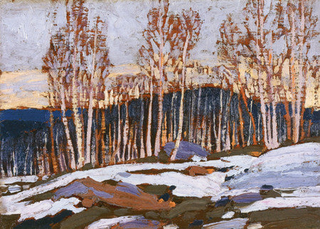 Birches - Tom Thomson - art card