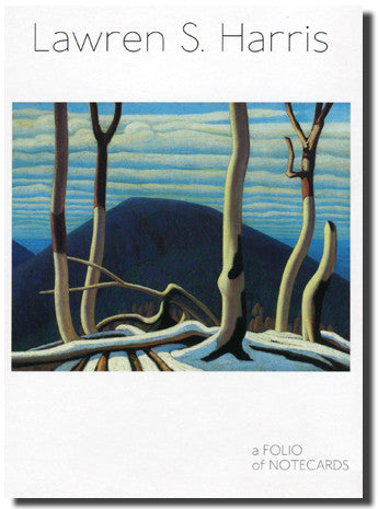 Lawren Harris - folio of note cards