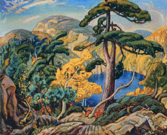 Bright Land - small giclee reproduction - Arthur Lismer