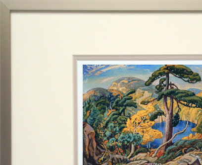 Bright Land - small framed giclee reproduction - Arthur Lismer