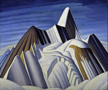 Mount Robson - large reproduction - Lawren Harris