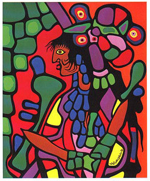 Great Mother - art card - Norval Morrisseau