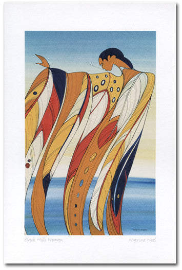 Black Hills Woman - Maxine Noel - art card